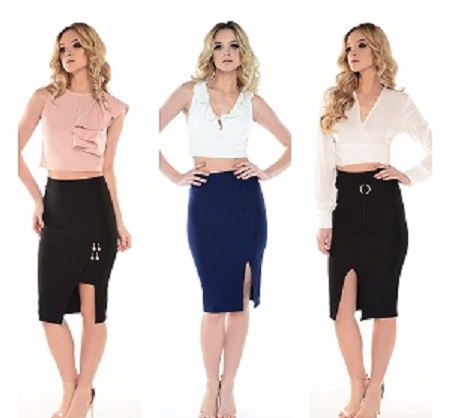 Trends 2018 - pencil skirt returns to our wardrobes