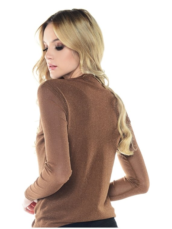 Blouse Lea light brown