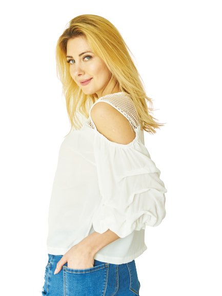 Blouse Olivia white