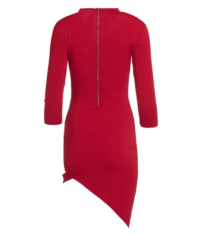 Dress Ula red