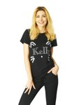T-shirt Kelly black CAT