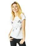T-shirt Kelly white CAT