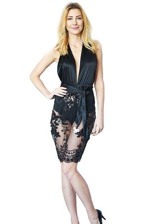 2894d84747514c Sukienki wieczorowe czarne | Sklep internetowy Kelly.com.pl