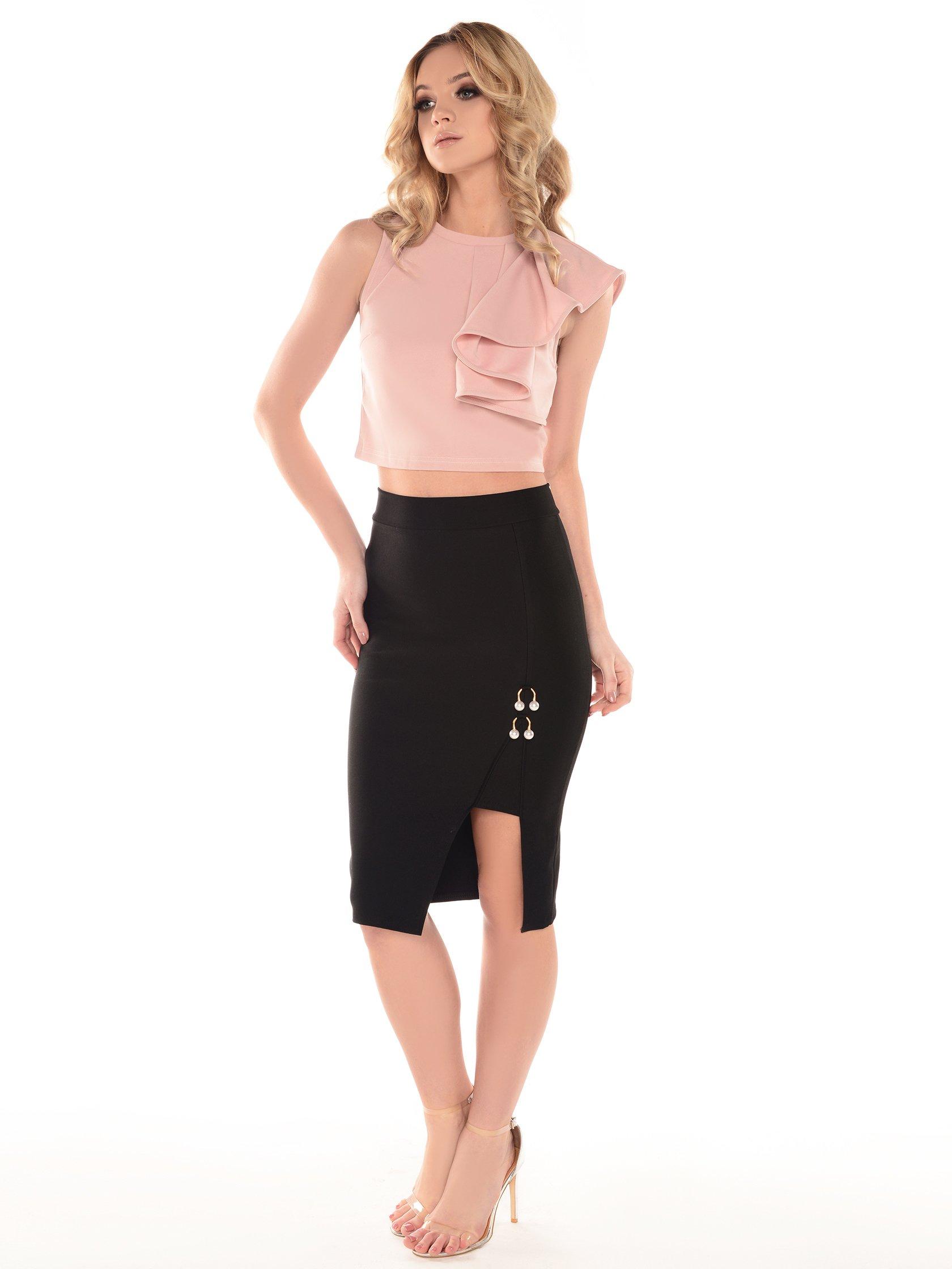 Wszystkie nowe Spódnica ołówkowa czarna Coline | Sklep internetowy Kelly.com.pl NE01