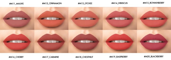 Pomadka matowa do ust KELLY QUEEN MATTE LIPSTICK M16 CHERRY