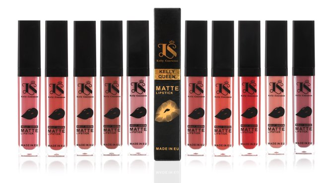 Pomadka matowa do ust KELLY QUEEN MATTE LIPSTICK M20 BLACKBERRY